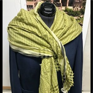 Soft and gorgeous green Banana Republic scarf/wrap